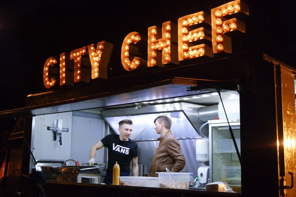 City Chef food truck'as.